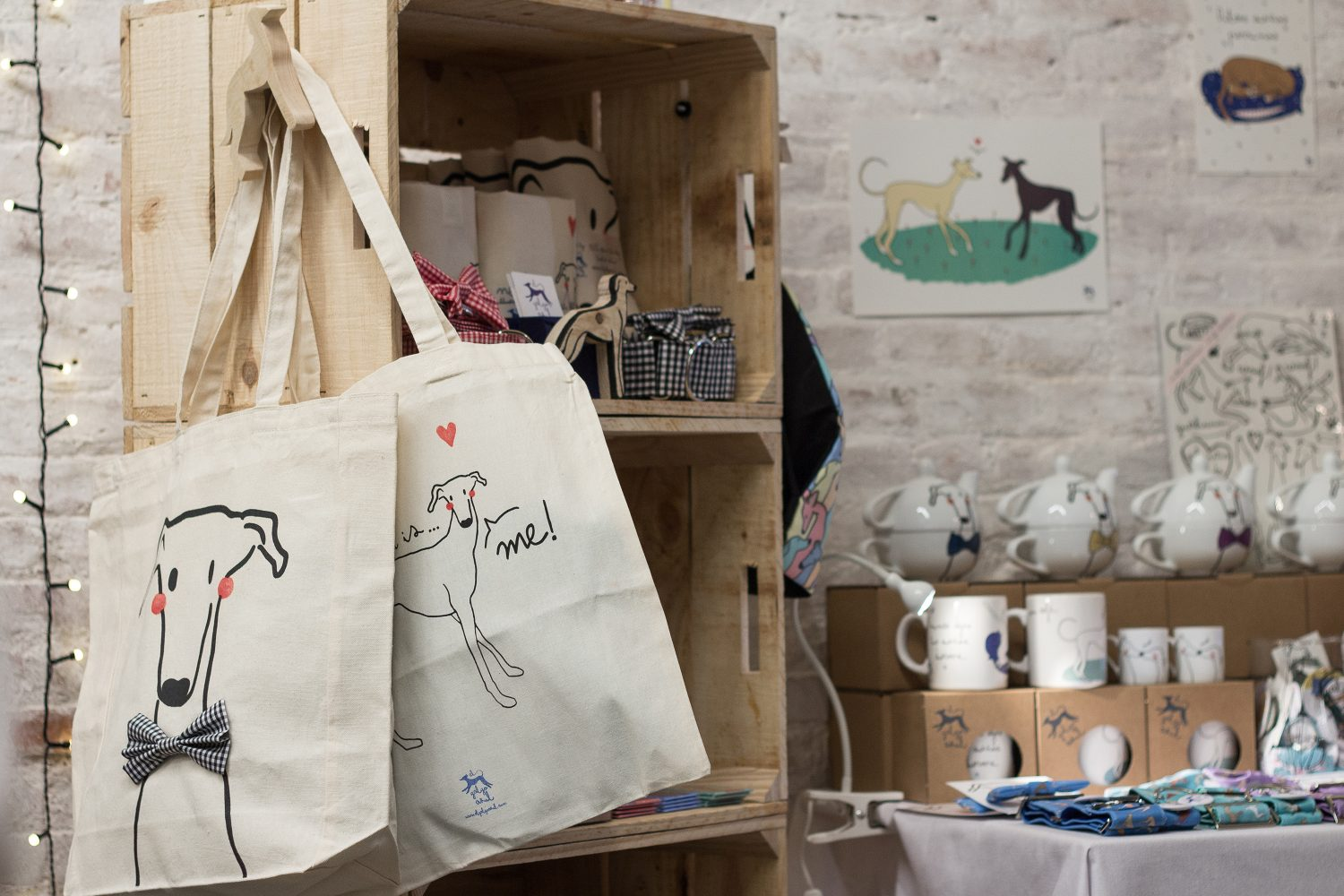 greyhound, totebag, galgo