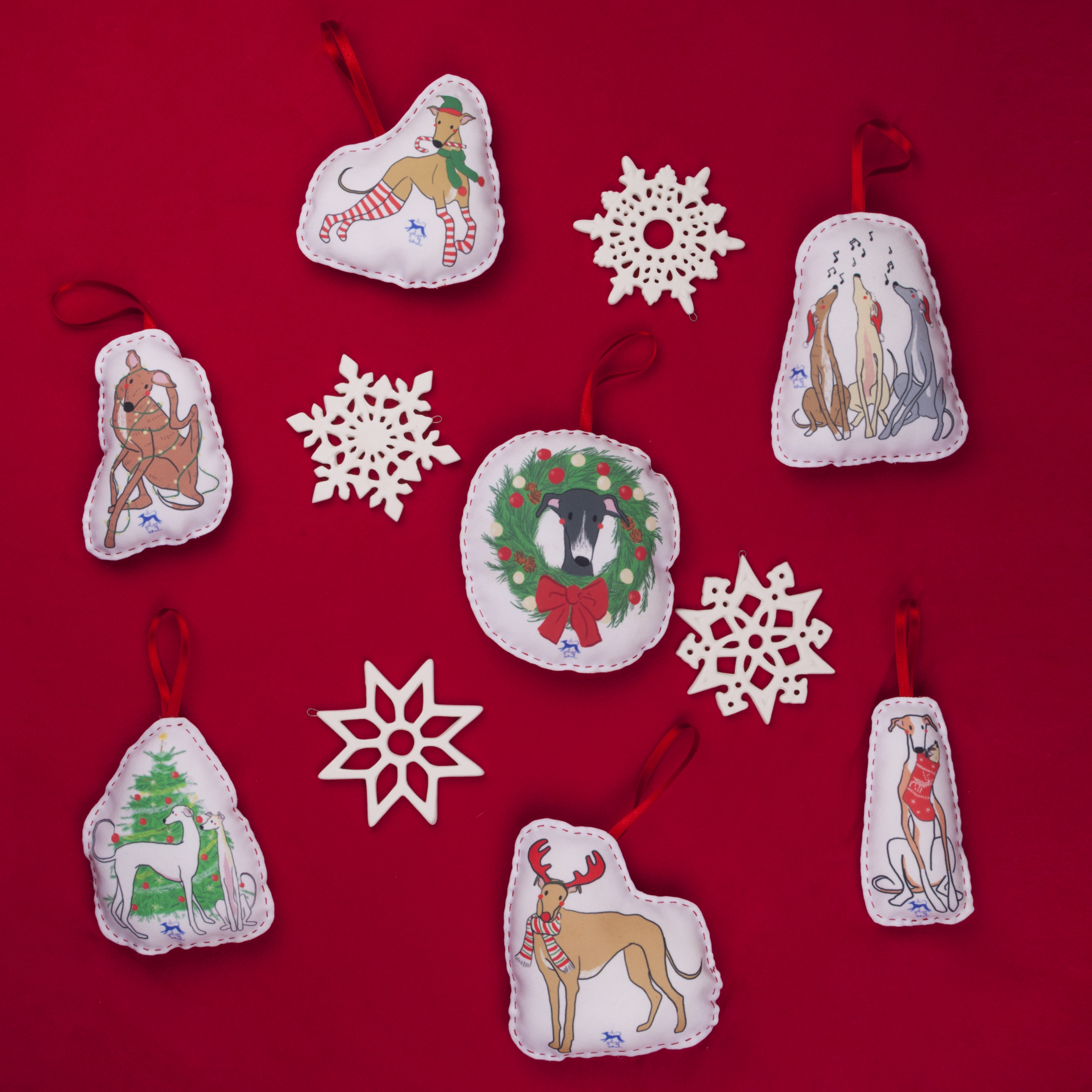 Pack adornos de Navidad