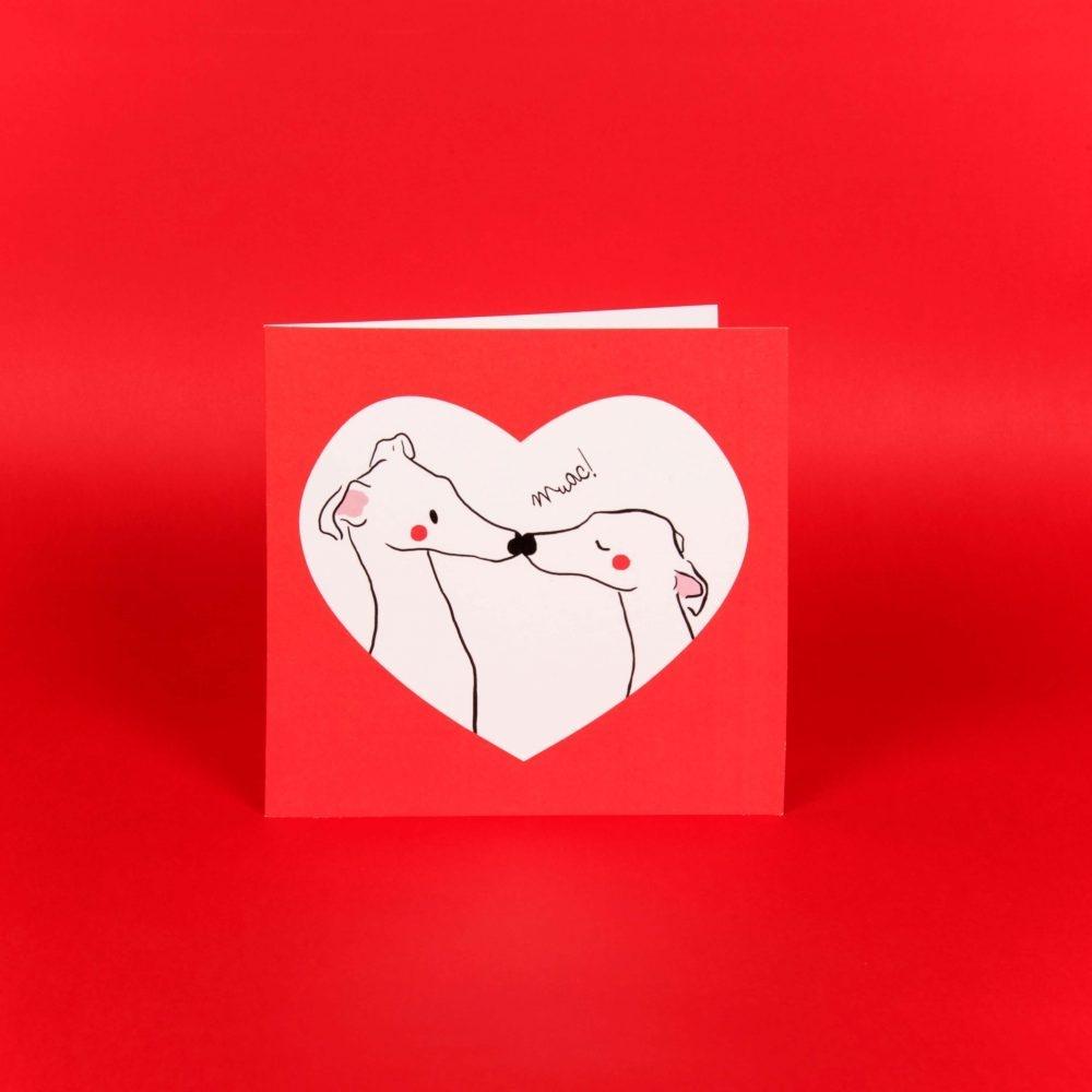 Postal Amor perruno