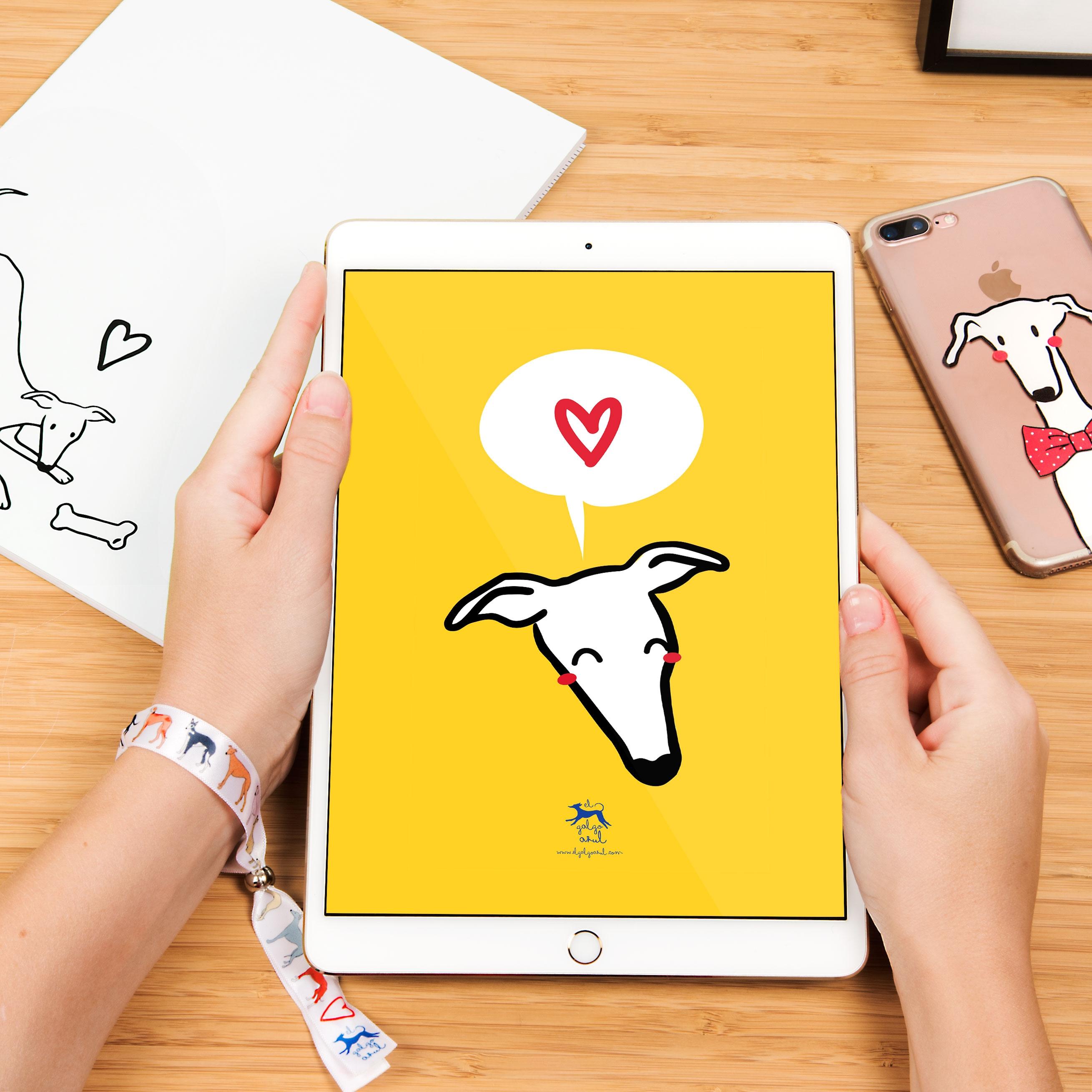 Wallpaper Caralápiz Tablet