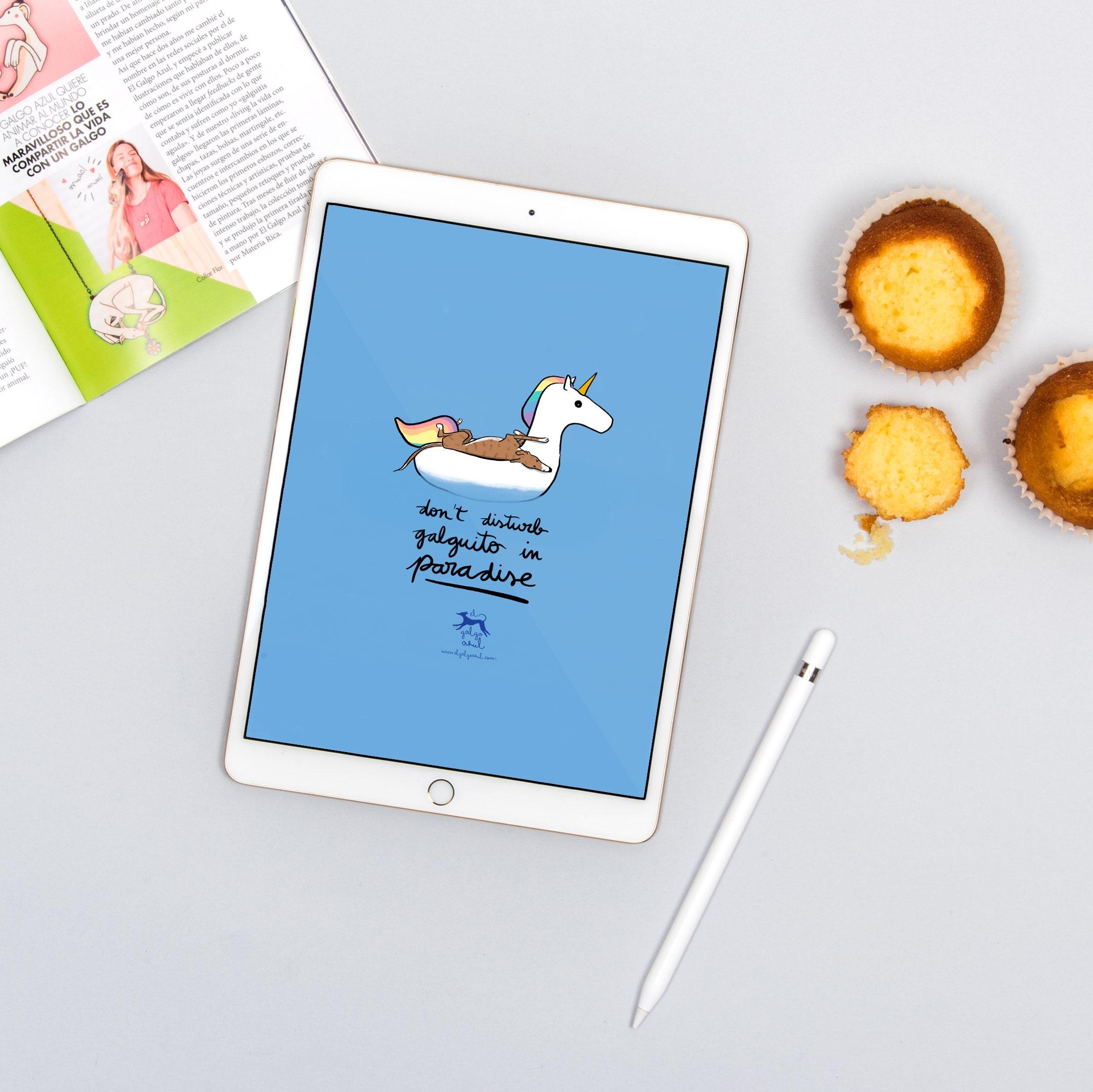 Wallpaper Paradise Tablet