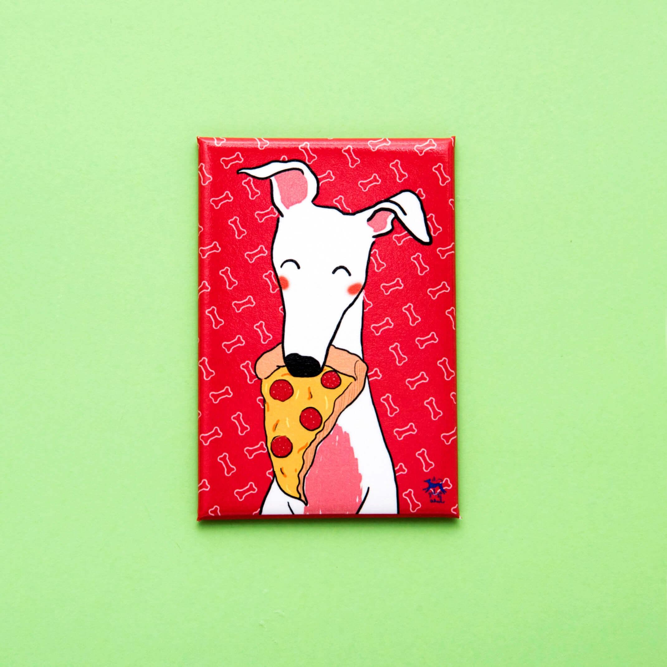 Imán Galgo Pizza