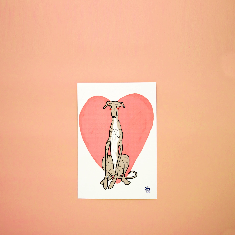 Corazón de galgo A5