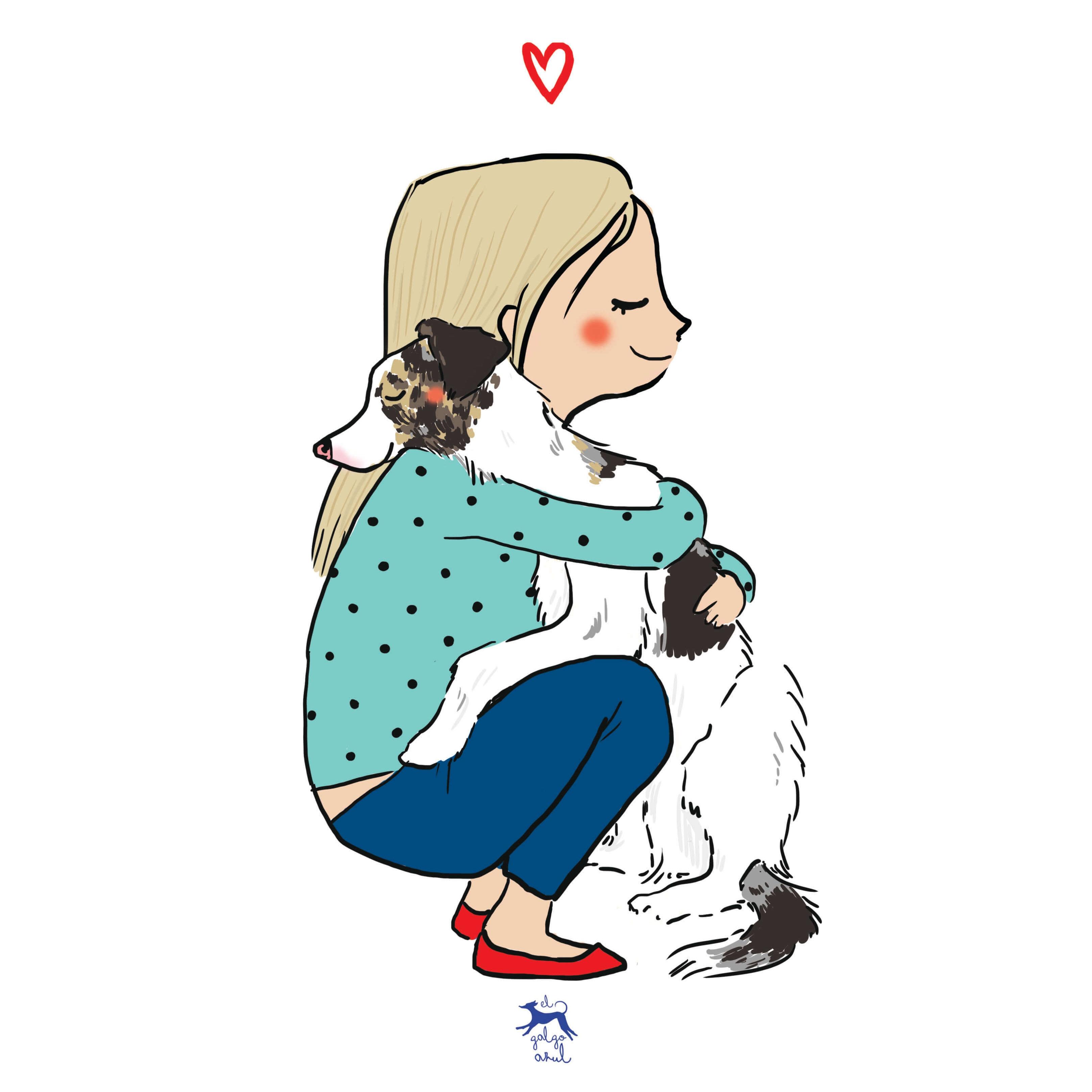 Abrazo perruno