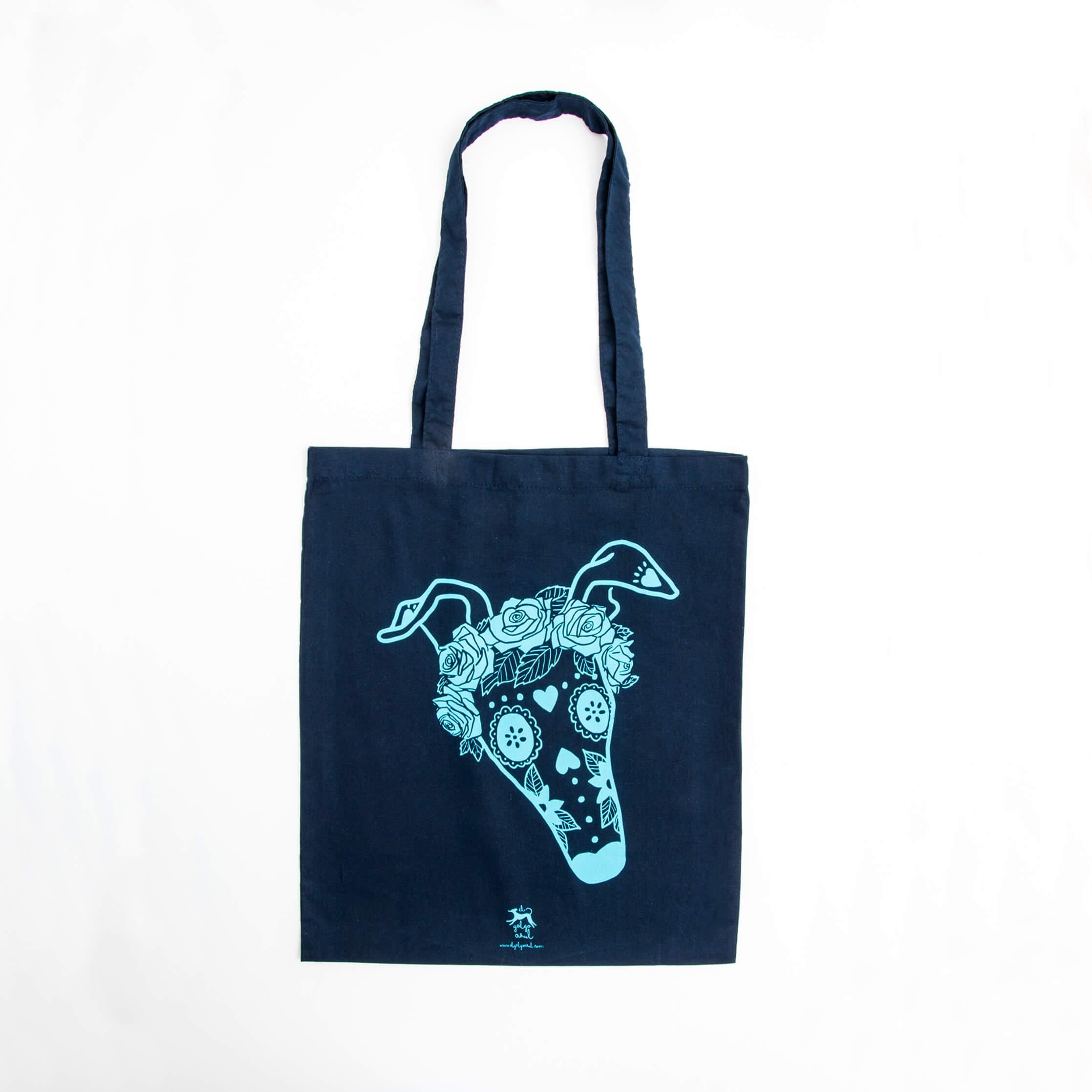 Bolsa Galga Catrina azul